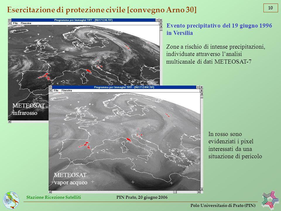 Esercitazione di protezione civile [convegno Arno 30]